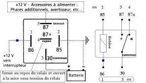 relai relai auto relai automobile relai electrique 12 v. Black Bedroom Furniture Sets. Home Design Ideas